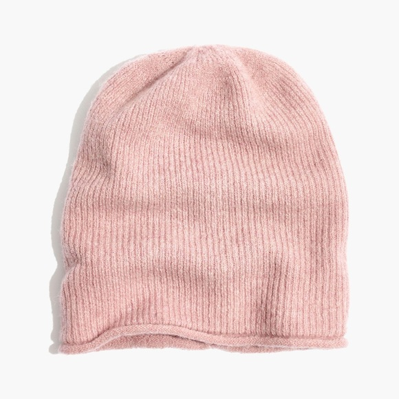 3111f7018c9 Madewell Accessories - Madewell Kent Beanie Pink Dusty Rose